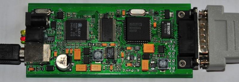 USB AUI Ethernet adapter prototype