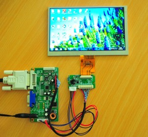 RM5251 LCD Controller, with PCB800182 and AT070TNA2