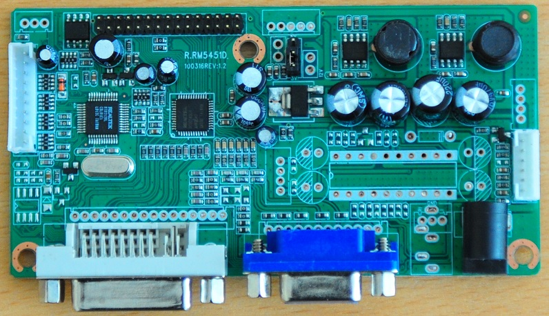 RM5451 LCD Controller