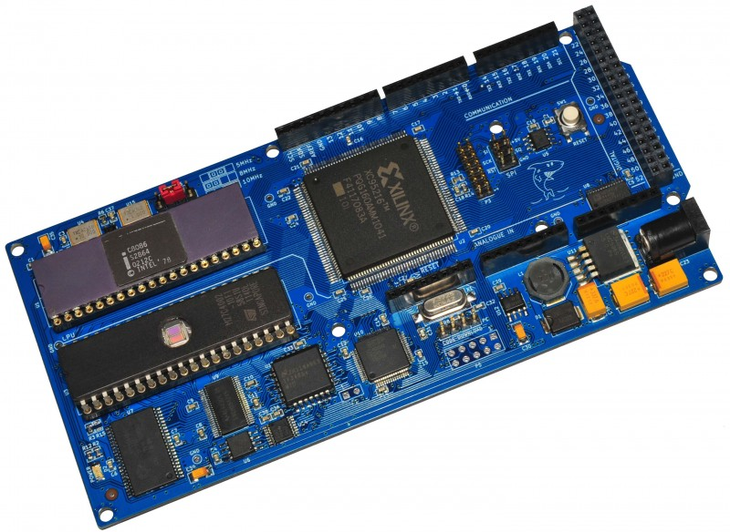 8OD.1 8086 Arduino form factor single board computer