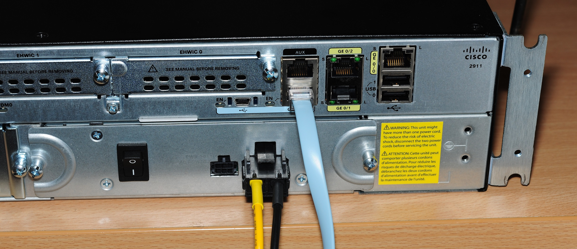 Silencing a Cisco 2911 router for home use – Matt's Tech Pages