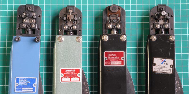 DuPont Amphenol FCI Crimp Tools HT-73, HT-95, HT-102, HT-112