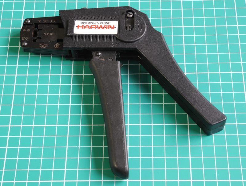 Harwin M20 Crimp tool