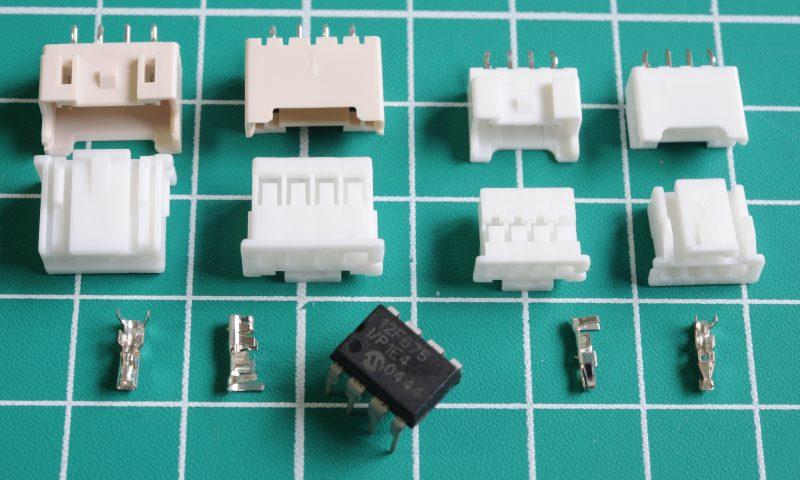 JST XA and PA connectors